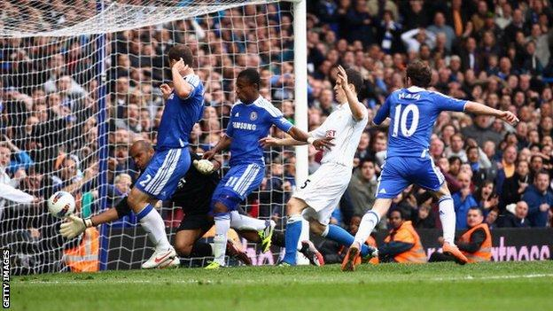 Juan Mata has now scored 11 goals for Chelsea this season