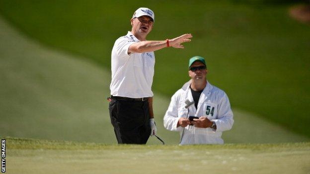 Lawrie looks to plot his way back into contention at Augusta