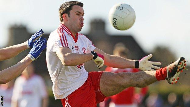 Kyle Coney starred for Tyrone at Omagh