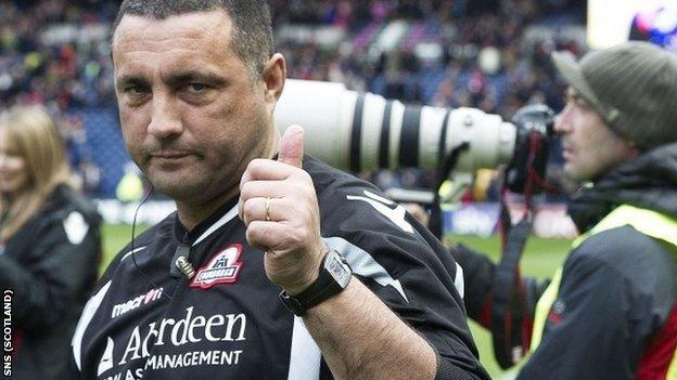 Irishman Bradley is in his first season as coach of Edinburgh