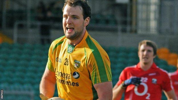 Donegal captain Michael Murphy