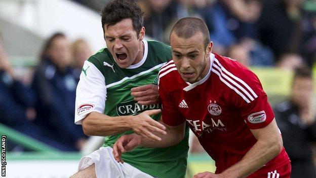Aberdeen meet Hibernian in the semi-finals of the Scottish Cup