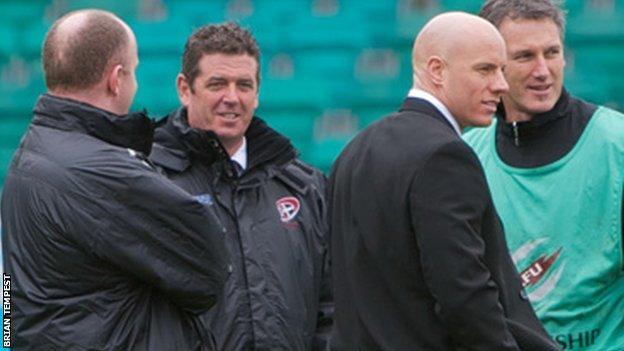Cornish Pirates coaching team