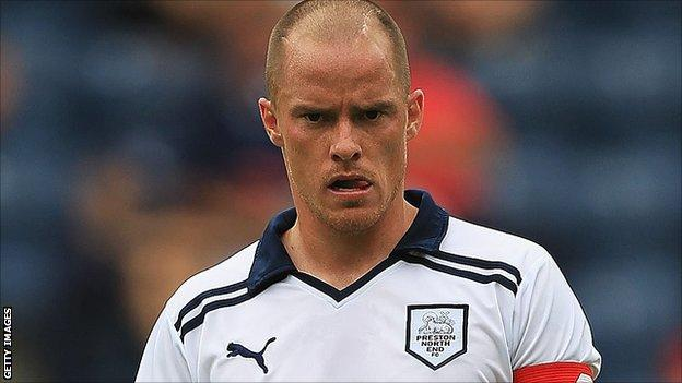 Preston North End striker Iain Hume