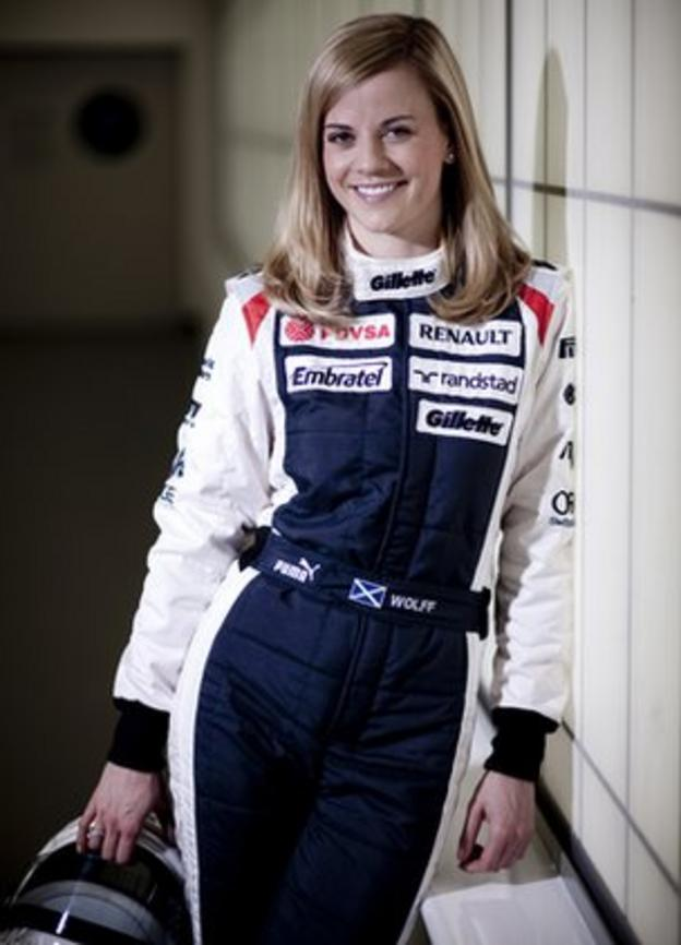 Williams test driver Susie Wolff