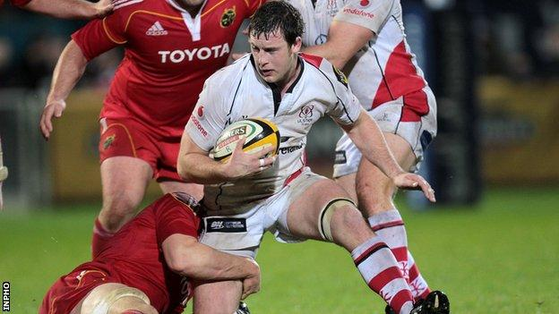 Ulster flanker Willie Faloon