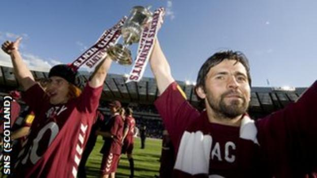 Skacel could be a big player for Hearts - as he was in the 2006 win over Gretna