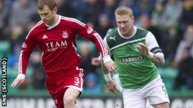 Mark Reynolds and the Dons defence will look to hold O'Connor in check