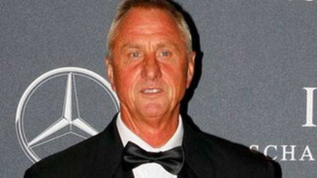 Johan Cruyff won the Ballon d'Or three times, in 1971, 1973 and 1974