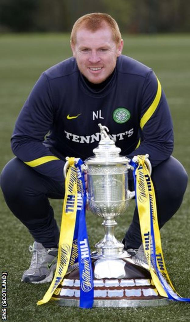 Lennon is hoping holders Celtic can hold on to the Scottish Cup