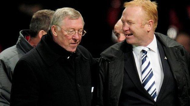 Sir Alex Ferguson and Alex McLeish