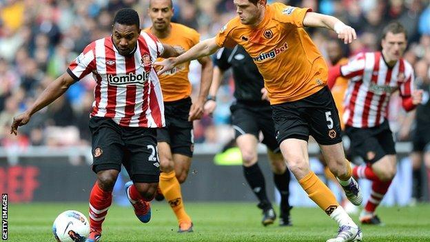 Stephane Sessegnon could not inspire a Sunderland goal