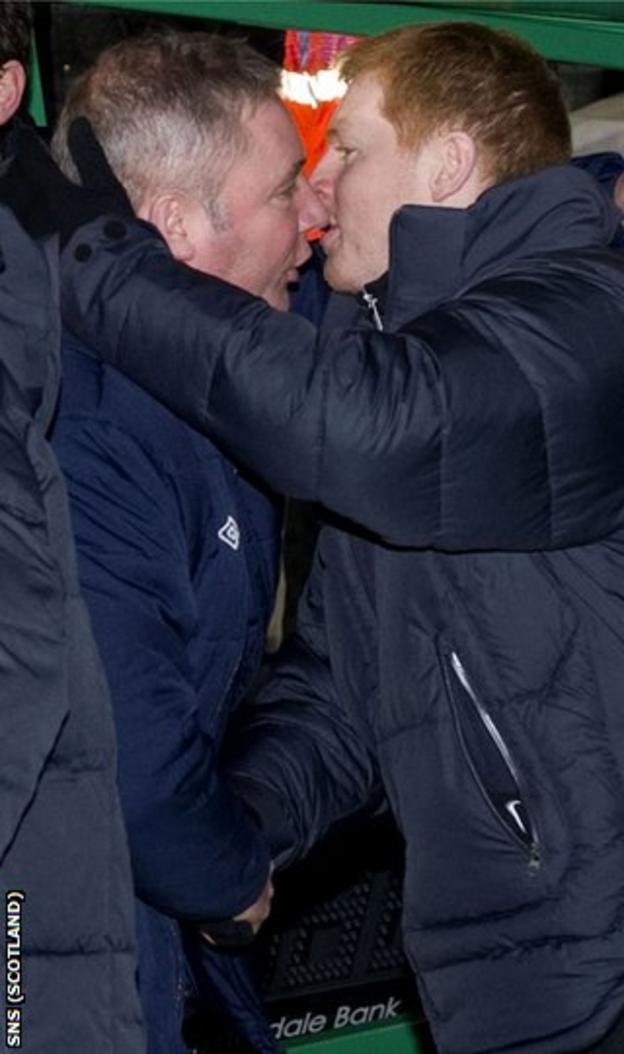 Rangers manager Ally McCoist (left) has had to battle through administration
