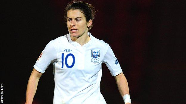 England international Karen Carney was twice on the scoresheet