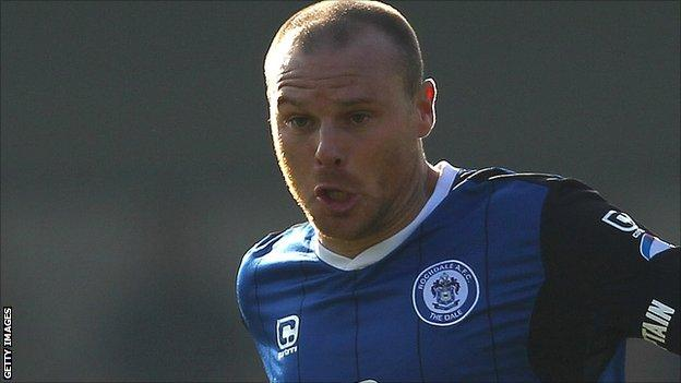 Rochdale captain Gary Jones