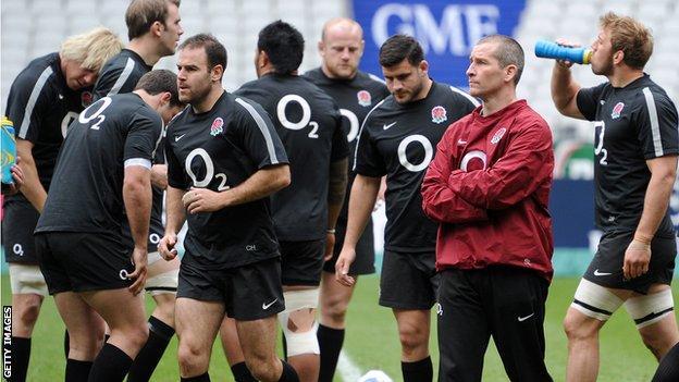 England's Stuart Lancaster