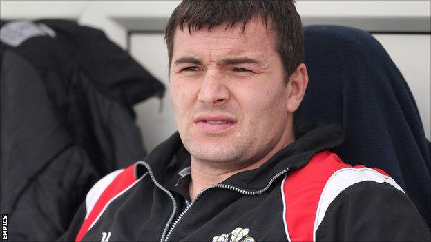 Wigan Warriors assistant coach Iestyn Harris