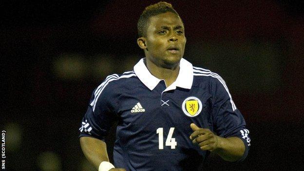 Scotland striker Islam Feruz