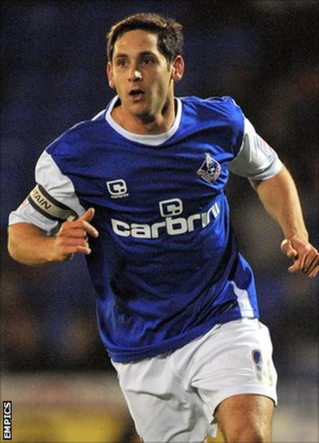 Oldham Athletic captain Dean Furman