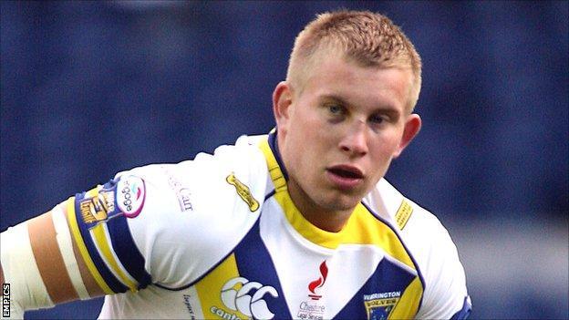 Warrington forward Mike Cooper
