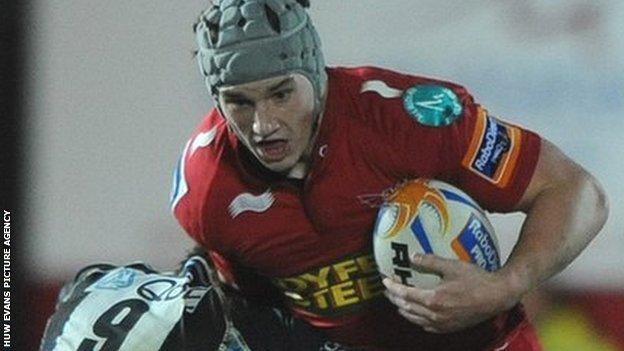 Jonathan Davies has won 24 caps since he won his debut in 2009