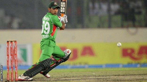 Bangladeshi batsman Nasir Hossain