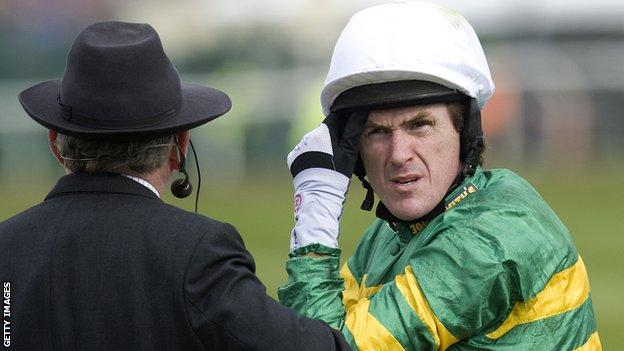 Tony McCoy was injured at the Grand National