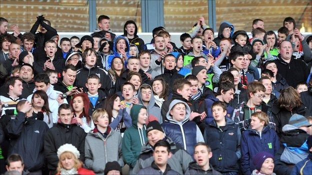 Darlington supporters