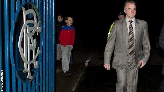 PFA Scotland chief executive Fraser Wishart