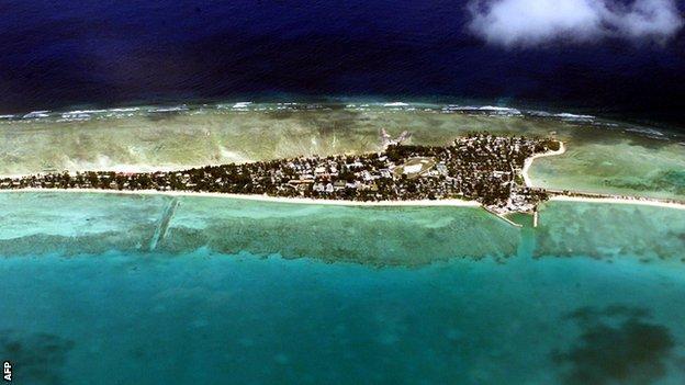 Tarawa, Kiribati's capital