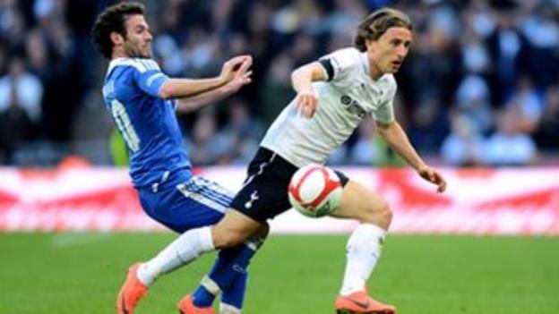 Spurs midfielder Luka Modric