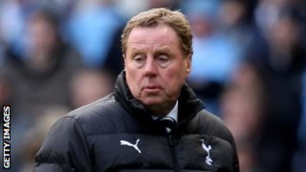 Spurs boss Harry Redknapp