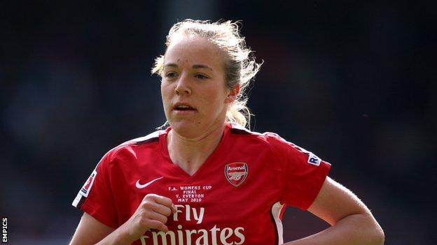 Arsenal's Gemma Davison