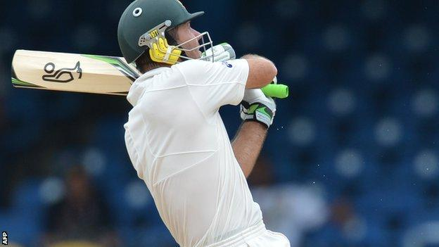 Australia batsman Ricky Ponting