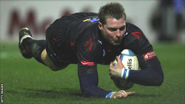 Former Sale Sharks and England winger Steve Hanley