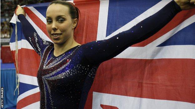 Beth Tweddle was the first gymnast from Britain to win a medal at the World and European Championships