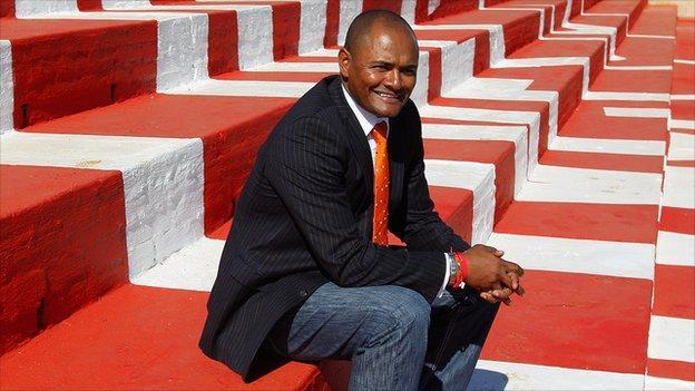 Former South Africa striker Shaun Bartlett