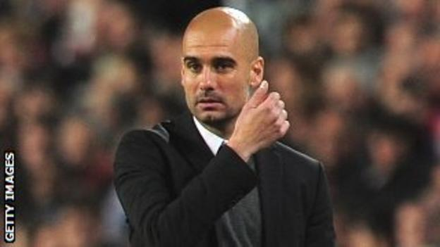 Pep Guardiola's Barcelona side was knocked out of the Champions League by Chelsea on Tuesday
