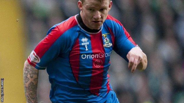 Hayes has been with Inverness since leaving Leicester in 2009