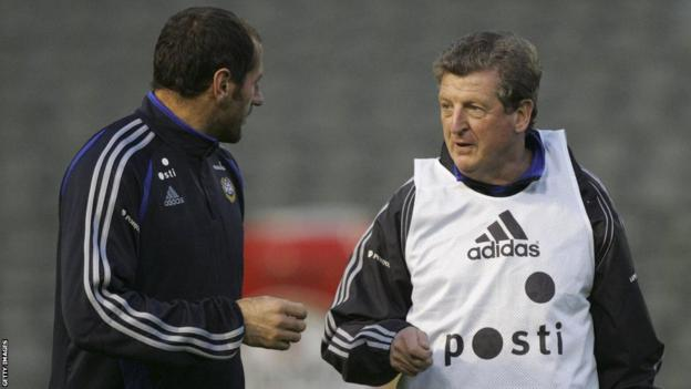 Roy Hodgson in charge of Finland