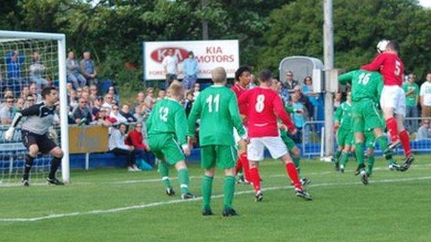 Jersey scoring in the 2011 Muratti Vase final