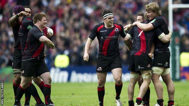 Edinburgh reached the semi-finals of the Heineken Cup this season