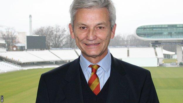 Former Sussex captain Mike Griffith is to be the next MCC president