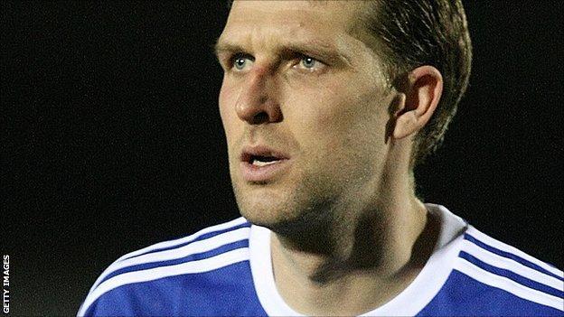 Bury defender Ben Futcher