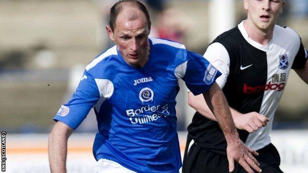 Allan Johnston won 18 caps for Scotland