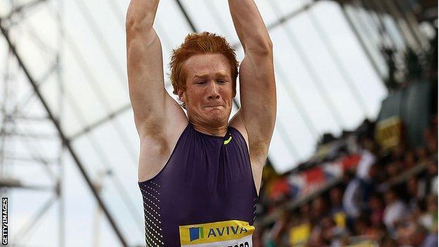 Greg Rutherford equals British long jump record