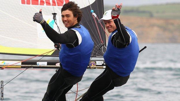 Iain Jensen (left)