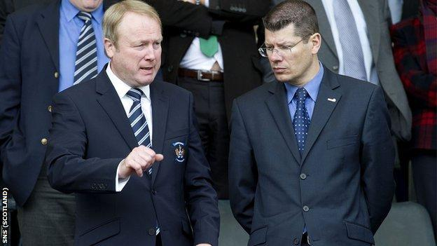 Michael Johnstone and Neil Doncaster