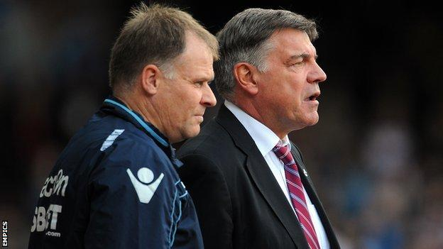 Neil McDonald and Sam Allardyce