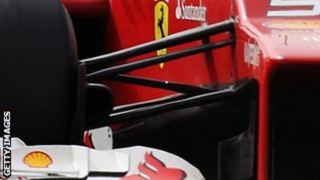 Ferrari front suspension